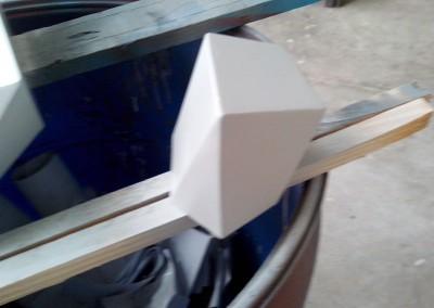 Router com Corte especial em madeira