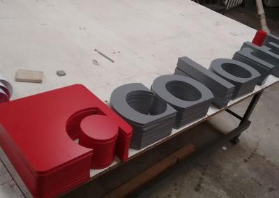 Letras Caixa em MDF pintado