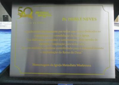 Placas comemorativas centro rio